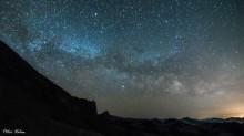 Nočná selfie s Mliečnou dráhou