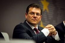 Podpredseda Európskej komisie Maroš Šefčovič