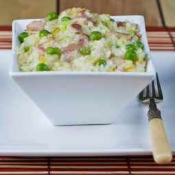 Leek bacon and pea risotto 800.jpg