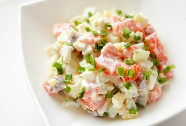 Lososovy salat